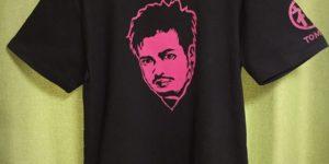 手描きTシャツのniko(ニコ) チェゲバラ風、似顔絵イラストのTシャツオーダー。