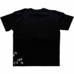手描きTシャツのniko(ニコ) men's登り鯉柄Tシャツ 手描きで描いた登り鯉のTシャツ