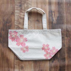 桜柄のトートバッグのオーダー。
