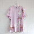 3XLビッグサイズの桜柄Tシャツのオーダー 大きいサイズのTシャツ