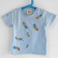 名前入り羽柄手描きTシャツオーダー。