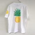手描きパイナップル柄Tシャツ